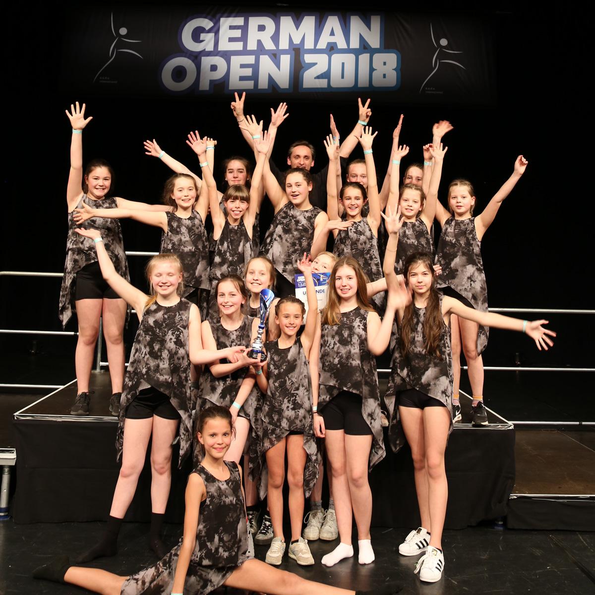 German Open 2018: Showgruppe START-UP ist Deutscher Meister