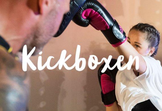 Kickboxen im Studio 232.