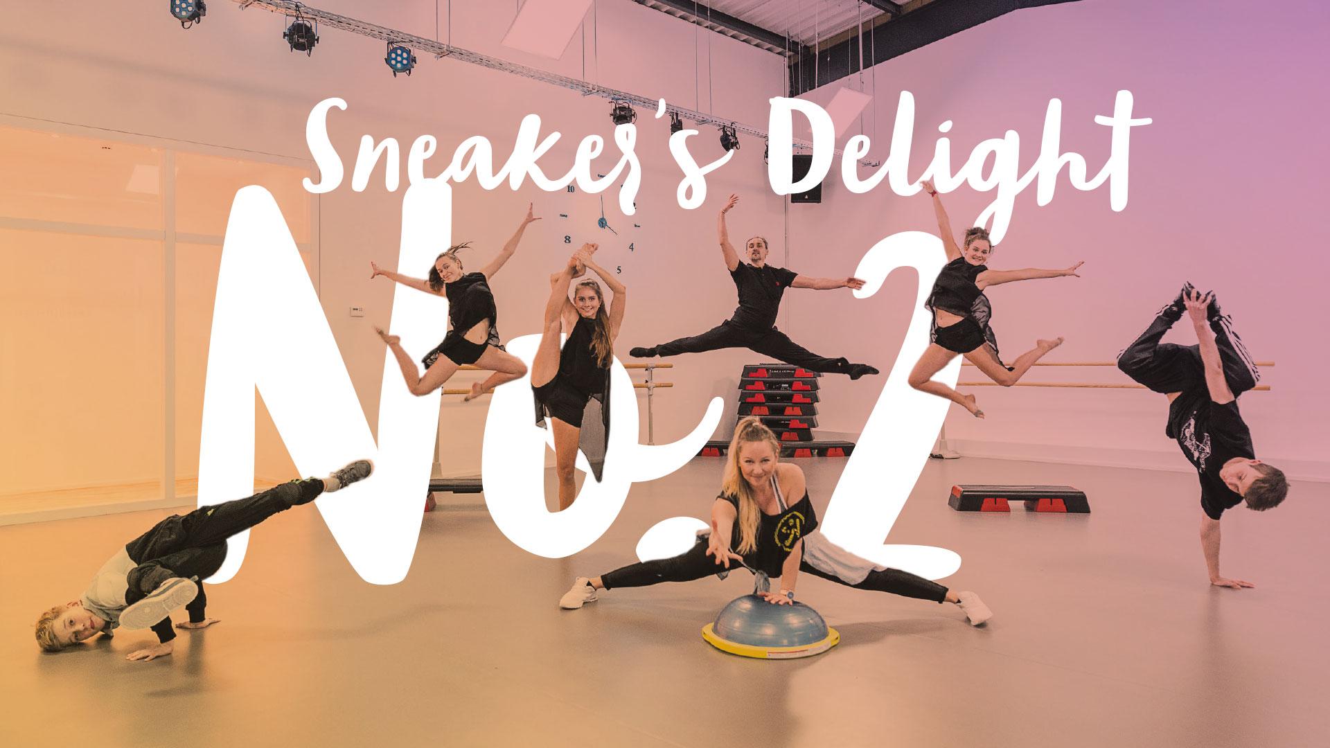 """Das Motiv zum Event """"Sneaker's Delight No. 2 – ein Jahr Studio 232"""" am 23.2.2019"""