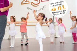 Kindertanz im Studio 232 in Krefeld