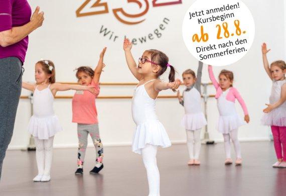 Kindertanz im Studio 232 in Krefeld