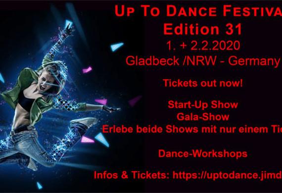 Visual des 31. Up-to-Dance Festivals